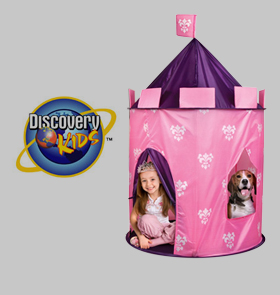 Here ...  sc 1 st  Wheel N Deal Mama & No More Rack: Discovery Channel Princess Tent for only $13 shipped ...