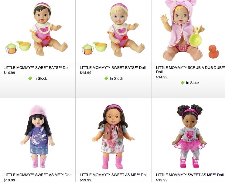 Little dolls deals