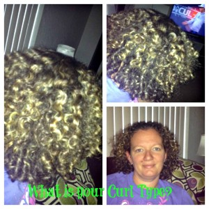 What is my Curl Type?  My Curly Girl Method Adventures