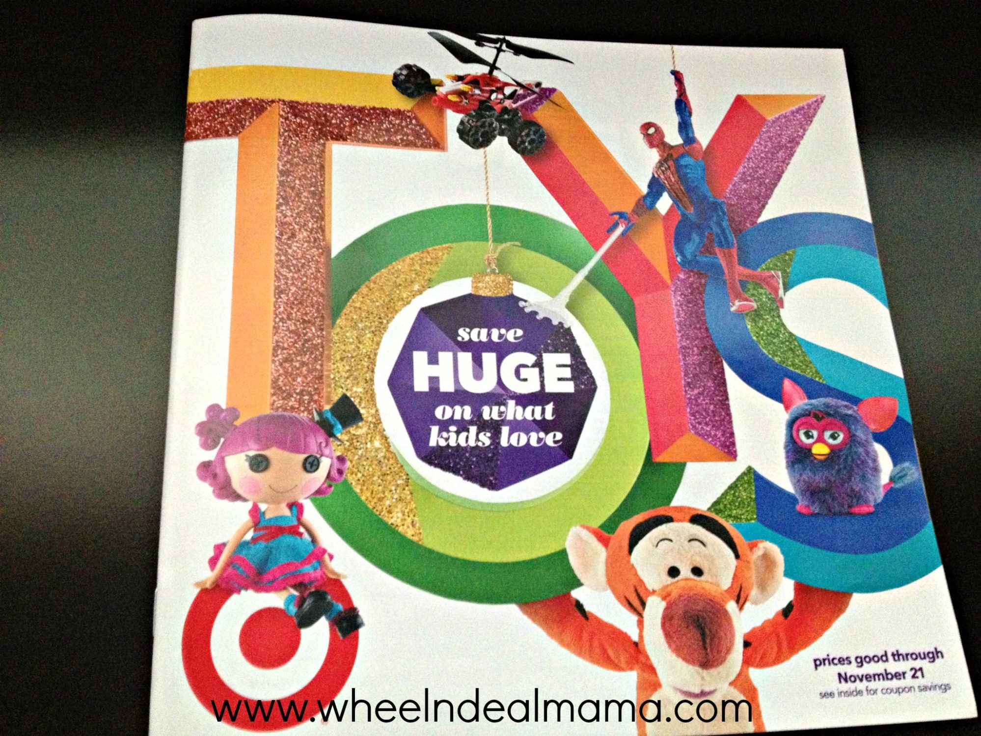 Target Toy For 10 And Up : Target toy book with tons of coupons wheel n deal