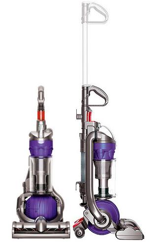 dyson dc24 ball purple all floors bagless upright vacuum ebay