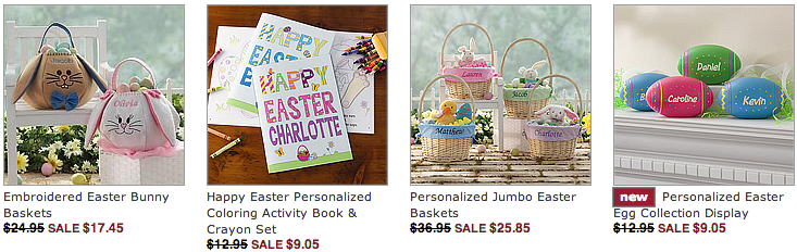 Personalized Easter Gifts Best Selling PersonalizationMall