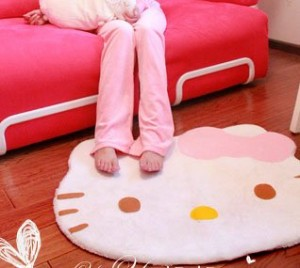 Hello Kitty Area Rug just $7.99 + FREE shipping!