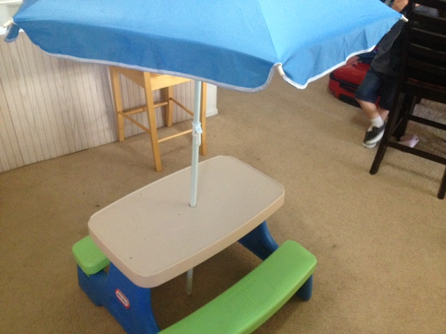 Little tikes easy store jr play table with umbrella review wheel little tikes2 watchthetrailerfo