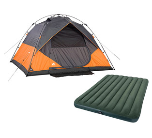 Ozark Trail 6 Person Instant Dome Tent with Intex Queen Airbed Value Bundle C&ing Walmart.  sc 1 st  Wheel N Deal Mama & Ozark Trail 6-Person Instant Dome Tent with Intex Queen Airbed ...