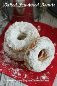 Baked Powdered Sugar Donuts – Easy Recipe!