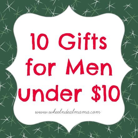 10 Gifts For Men Under Dollars