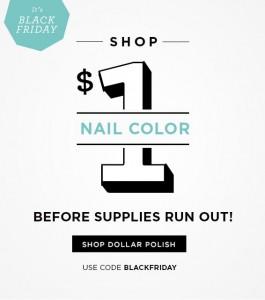 *HOT* $1 Nail Polish from Julep + FREE Shipping!! Black Friday Sale!!