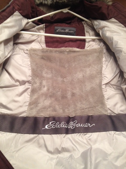inside of eddie bauer sun valley parka