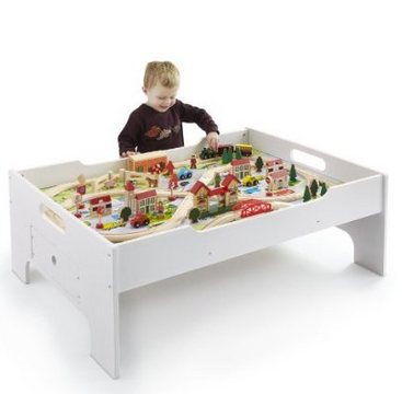 80 Piece Deluxe Train Set and Table only $64.99!!! Reg. $120 ...