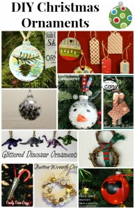 10 Do-It-Yourself Christmas Ornaments