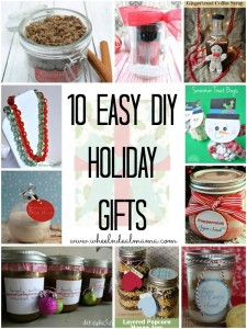 10 Easy Do-it-Yourself Holiday Gifts