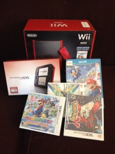 Nintendo: Taking Gaming Back to the Basics!  Wii Mini and Nintendo 2DS make Great Gifts!