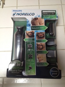 Philips Norelco Multigroom Pro: Perfect Gift for the Hubby!   One Reader will win One!