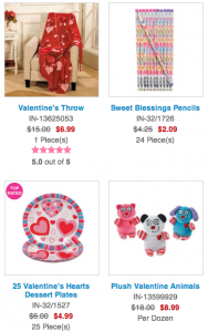 Oriental Trading Co: FREE Shipping + up to 65% off Valentine's Day Stuff!!! Party Supplies, Mugs, Treats, + More!
