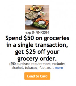 Expired – Kroger: *HOT* $25 off any $50 Purchase!!! GO NOW!!