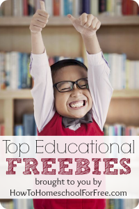 Top TEN Educational Freebies, week of 3/22/14