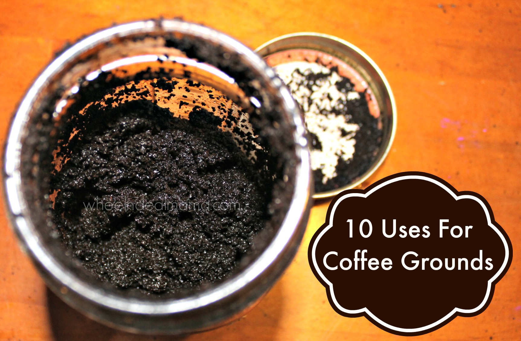10 uses for coffee grounds wheel n deal mama. Black Bedroom Furniture Sets. Home Design Ideas