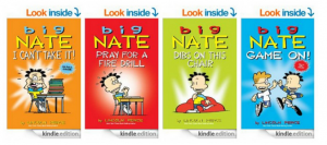 Amazon: Kindle Daily Deal: 7 Big Nate Books just $1.99 each!
