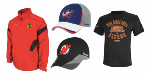 Reebok: ADDITIONAL 50% off All NHL Merchandise!! Plus FREE shipping!