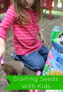 Starting Seeds with Kids; Planting at Home