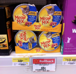 Meow Mix Canned Cat Food Reviews