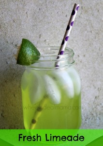 Fresh Limeade, Great refreshing Summer Drink!