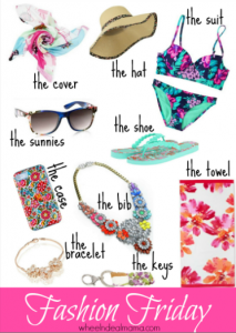 Fashion Friday: All Things Floral Round Up