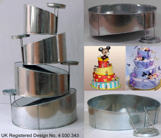 how to build a topsy turvy cake stand