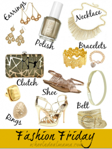 Fashion Friday: Gold Rush