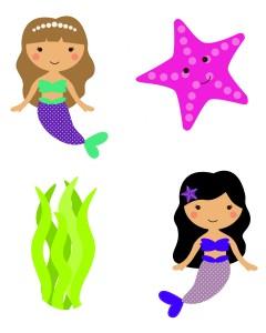 mermaid printable