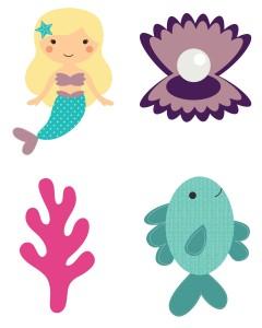mermaid printable2