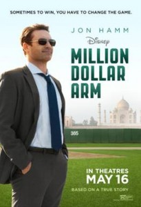 Disney's Million Dollar Arm; a MUST See Family Movie!  #MillionDollarArmEvent
