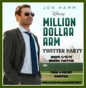 #MillionDollarArmEvent Twitter Party! Win Prizes + Learn more about the movie!