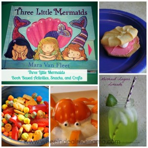 Three Little Mermaids: Snacks, Activities, and Crafts, Part 1: Snacks