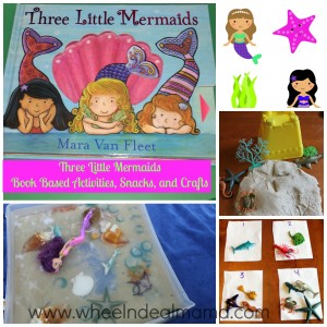 Three Little Mermaids: Snacks, Activities, and Crafts; Part 3: Activities