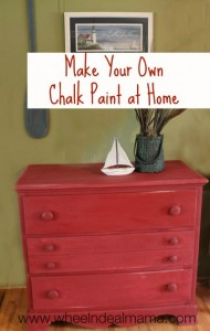 Make Your Own Chalk Paint at Home