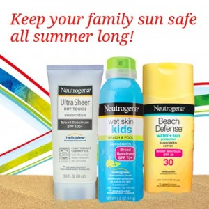 NEUTROGENA® FAMILY SUNCARE: My go-to Sunscreen for the Kids and Me