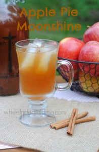 Apple Pie Moonshine, Easy Homemade Recipe