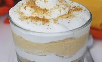 No Bake Pumpkin Cheesecake Parfait
