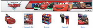 Disney Cars 2 Products available at Walmart for the Cars fans!