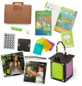 FREE Star Light Lantern Craft Kit! + FREE 16 page activity book, Kid Friendly Star Hole punch, Glow in the dark stickers!!