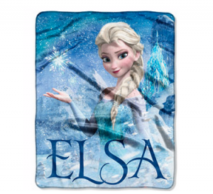 Disney Frozen Elsa Palace 40″ x 50″ Silk-Touch Throw just $9.96 + FREE in Store Pick Up!!