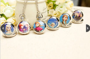 Disney's Frozen Ceramic Watch Necklace just $14 Shipped!!!