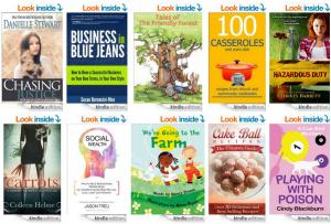 10 FREE Kindle Books on Amazon!! 9/10/14