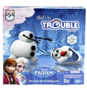 Frozen Olaf's in Trouble Game just $13.68!!!