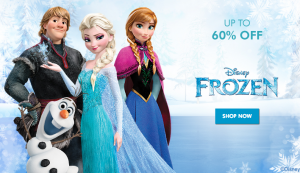 Zulily *HOT* Frozen Apparel, Toys + More up to 60% off!!! HIGH SELL OUT RISK
