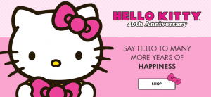 Hello Kitty up to 50% off! TONS to Pick from!