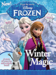 Disney Frozen Magazine just $14.50 for a Year Subscription!! Reg. $34.97