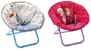 Bon-Ton: *HOT* Disney Frozen Olaf or Anna & Elsa Saucer Chair just $20 + FREE shipping!!! Reg. $40